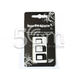 Black Nano Sim Adapter