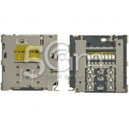 Lettore Sim Card + Memory Card Samsung SM-E700 E7