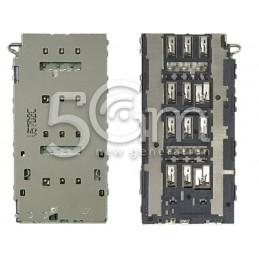 Lettore Dual Sim Card Samsung SM-G928 S6 Edge+