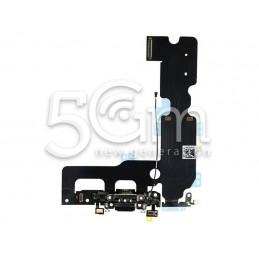 Connettore Di Ricarica Nero Flat Cable iPhone 7 Plus No Logo