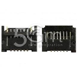 Connettore 6 Pin Su Scheda Madre Connessione Tasto Accensione + Volume Flat Cable iPad Mini