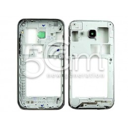 Middle Frame Silver Samsung SM-G360F Ori