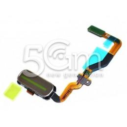 Tasto Home Gold + Flat Cable Samsung SM-G930 S7 Ori
