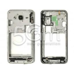 Middle Frame Silver Samsung SM-J320F