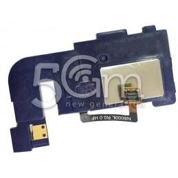Suoneria Sinistra + Supporto Flat Cable Samsung N8000