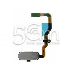 Tasto Home Silver + Flat Cable  SM-G930 S7 Ori