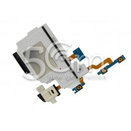 Suoneria Lato Sinisto + Jack Audio + Tasti Flat Cable Samsung SM-T520