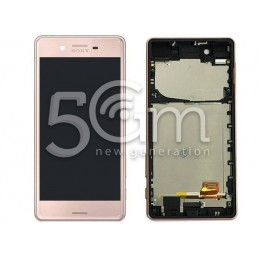 Display Touch + Frame Rose Gold Sony Xperia X Performance F8131