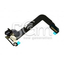 Connettore Di Ricarica Nero Flat Cable iPod Touch 6 No Logo