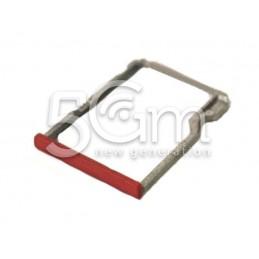 Supporto Micro SD Rosso Htc One M8