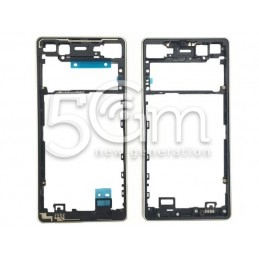 Xperia X F5121 Silver Front Cover for White LCD Version