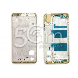 Frame Lcd Gold Huawei Shot x
