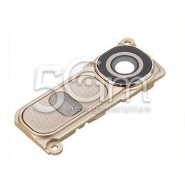 Cover Fotocamera + Tasti Funzione Gold LG G4 H815