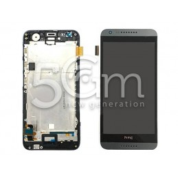 Display Touch Nero + Frame Bianco HTC Desire 620-620G