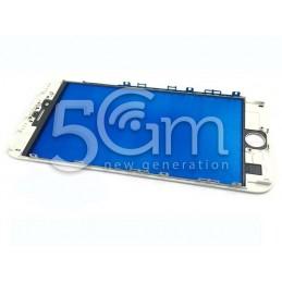 Vetro Bianco + Frame Ultra Resistente IPhone 6S Plus