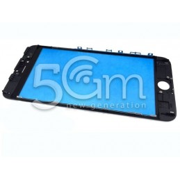 Vetro Nero + Frame Ultra Resistente IPhone 6S Plus