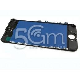 Vetro Nero + Frame Ultra Resistente IPhone 5C
