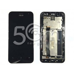 Display Touch Nero + Frame Asus ZenFone 2 ZE500CL VERSIONE CN
