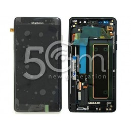 Display Touch Nero + Frame Samsung SM-N930 Note 7