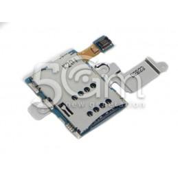 Lettore Sim Card + Supporto Flat Cable Samsung N8000 Ori