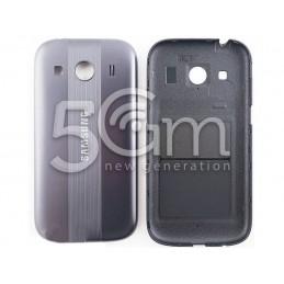 Retro Cover Grigio Scuro Samsung SM-G357F