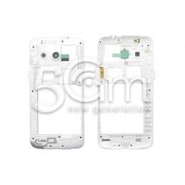 Middle Frame Bianco Samsung SM-G386 Ori