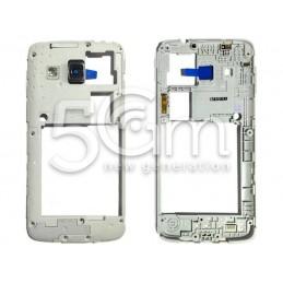 Middle Frame White Samsung SM-G3815