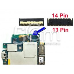 Xperia Z3 D6603 Front Camera to Motherboard 13/14 Pin Connector