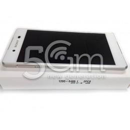 Xperia Z3+ Dual E6533 Ori White Touch Display + Frame