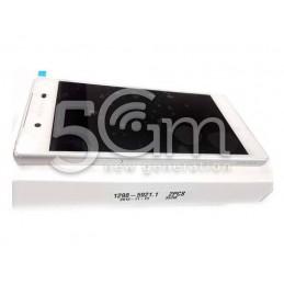 Display Touch Bianco + Frame Xperia Z5 E6683 Dual Sim