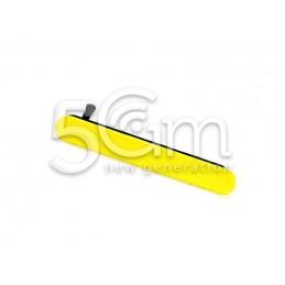 Sportellino Copertura Sim Yellow Xperia Z5 Mini E5823