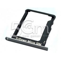 Supporto Sim Card Nero Huawei Ascend P8 Lite