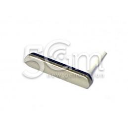 Xperia M4 Aqua E2303 Silver SS Sim Port Cover