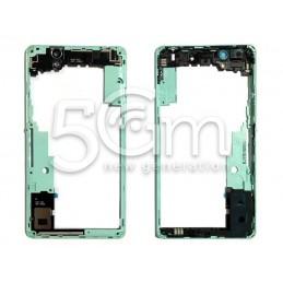 Middle Frame Green Xperia C4 Dual Sim E5333