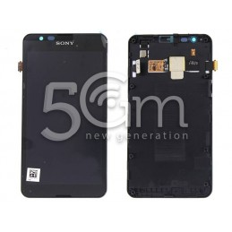 Sony Xperia E 4G E2003 Black Touch Display + Frame