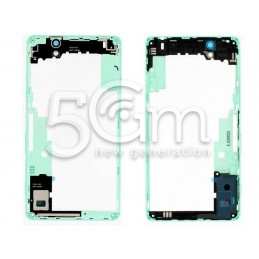 Xperia C4 E5303 Green Middle Frame