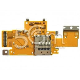Sony Xperia Z Tablet SGP311 16G Memory Card Reader Flex Cable