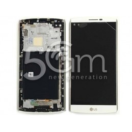 Display Touch Bianco + Frame LG V10 H960