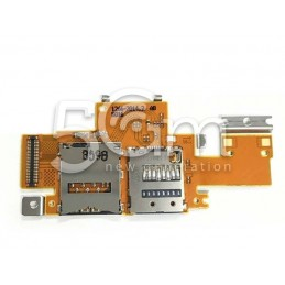 Lettore Sim Card Completo Flat Cable Xperia Tablet Z SGP311