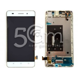 Huawei G Play Mini White Touch Display + Frame