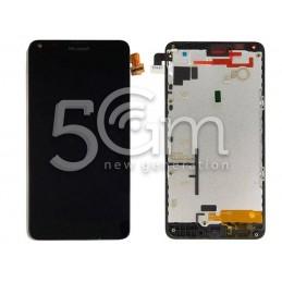 Nokia 640 Lumia Black Touch Display + Frame