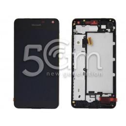 Display Touch Nero + Frame Nokia 650 lumia Ori