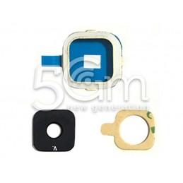 Samsung SM-A500 Camera Frame + Glass Lens for Gold Version