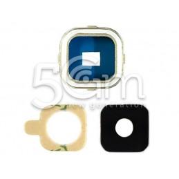 Vetrino + Frame Fotocamera Samsung SM-A7 Versione Gold