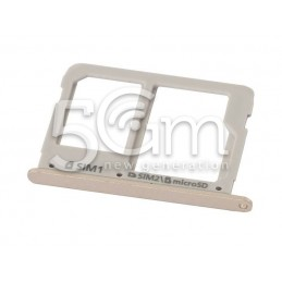 Samsung SM-A310F Sim Card Holder Gold Version