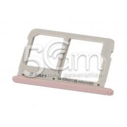 Supporto Sim Card Versione Rose Gold Samsung SM-A510F