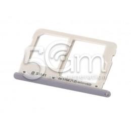 Supporto Sim Card Versione Bianco Samsung SM-A310F