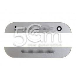 Top + Down Cover White HTC One Mini 2
