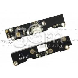 Connettore Di Ricarica Flat Cable Meizu MX3