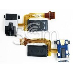"Jack Audio Flat Cable Nero Samsung SM-J2 ""J200F"""